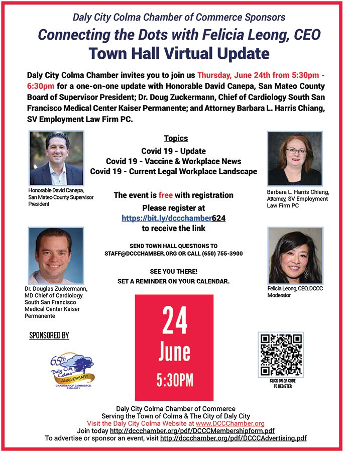 Town Hall Virtual Meeting Opportunities & Future of Business June 24th